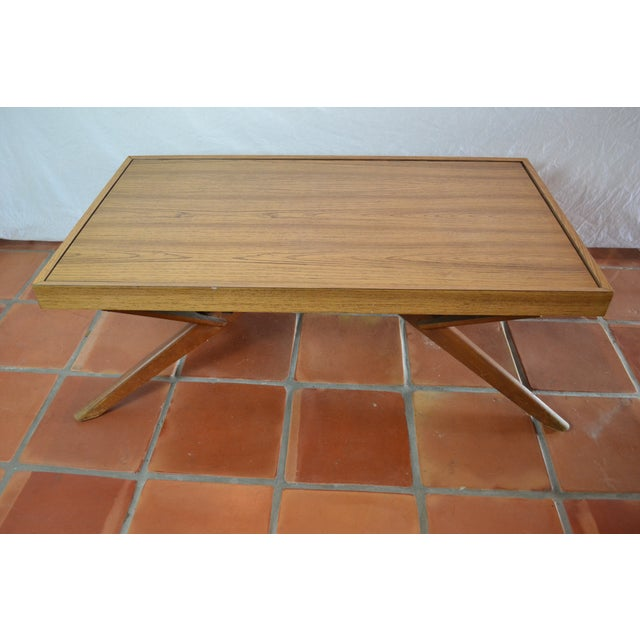 Mid-Century Convertible Castro Dining/Coffee Table - Image 10 of 11