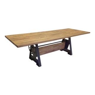 Old School Oak Dining Table