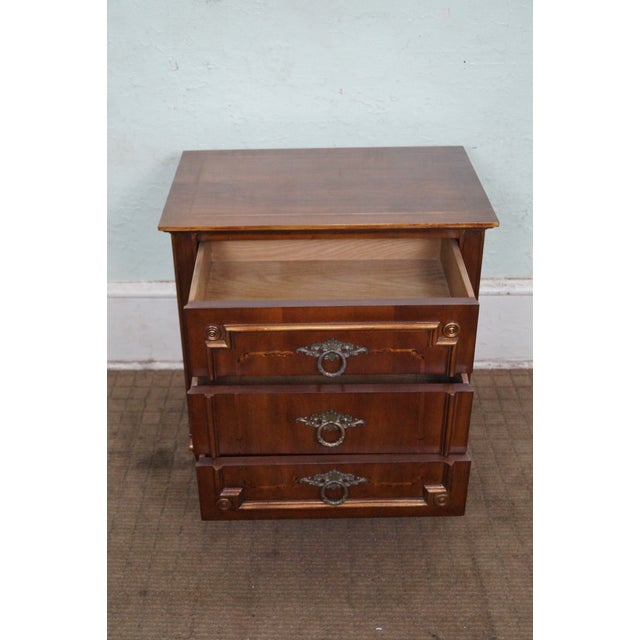 John Widdicomb Painted French Style Nightstand - 2 - Image 4 of 8