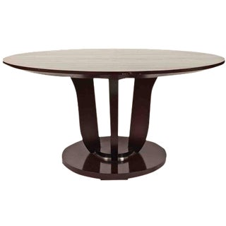 Barbara Barry Round Fluted Dining Table