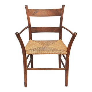 Antique Early American Armchair