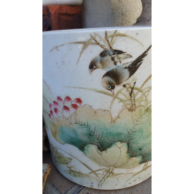 Vintage Chinese Bird Jardinaire - Image 3 of 5