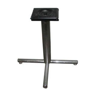 Simple Chrome Metal Table Base