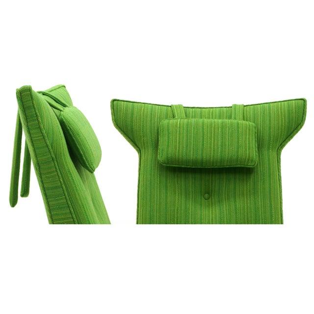 Rare George Nakashima for Widdicomb High Back Lounge Chair and Ottoman - Image 11 of 11