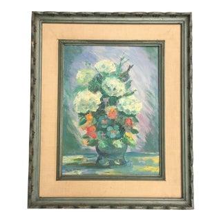 Phyllis Stevens Original Floral Oil Painting