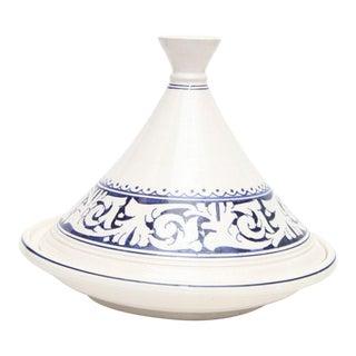 Moroccan Hand Painted Medium Serving Tajine