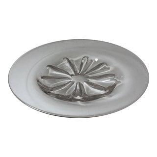 "Vintage 14"" Orrefors Crystal Centerpiece Dish"