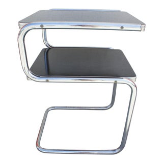 Art Deco Shelf Side Table