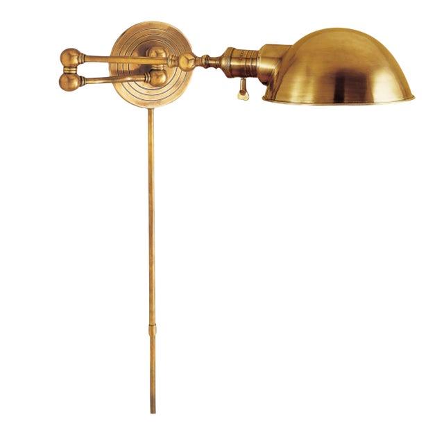 Image of Visual Comfort Brass Wall Light
