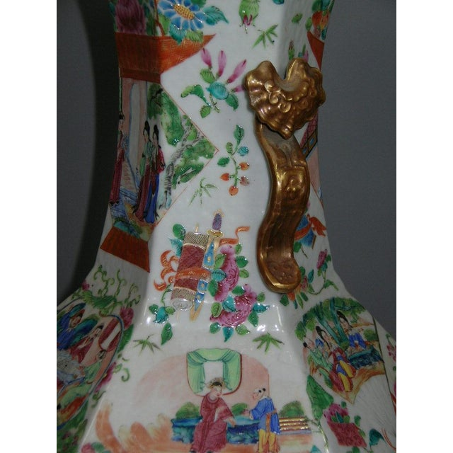 19th Century Chinese Famille-Rose Porcelain Vase - Image 4 of 10