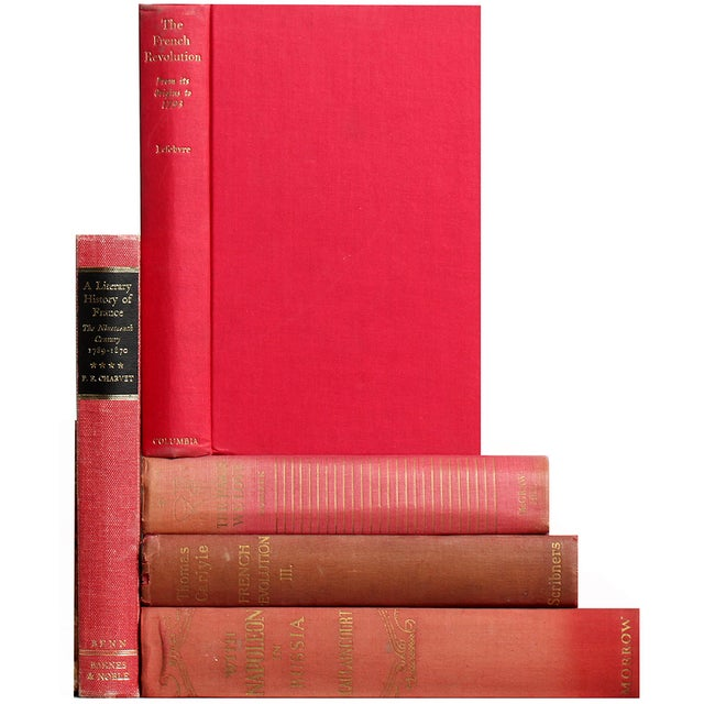 Red French History & Culture Books - Set of 5 - Image 1 of 2