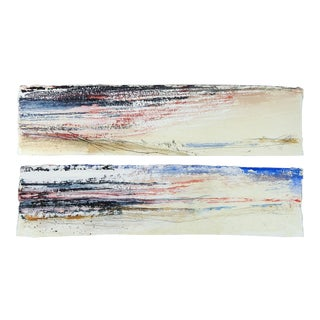 George Turner Abstract Diptych