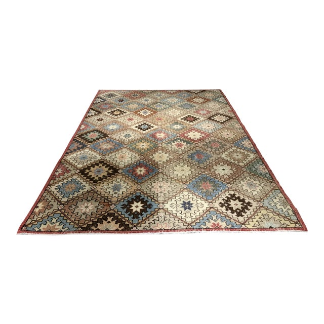 "Bellwether Rugs Vintage Turkish Zeki Muren Rug - 6'6""x10' - Image 1 of 9"