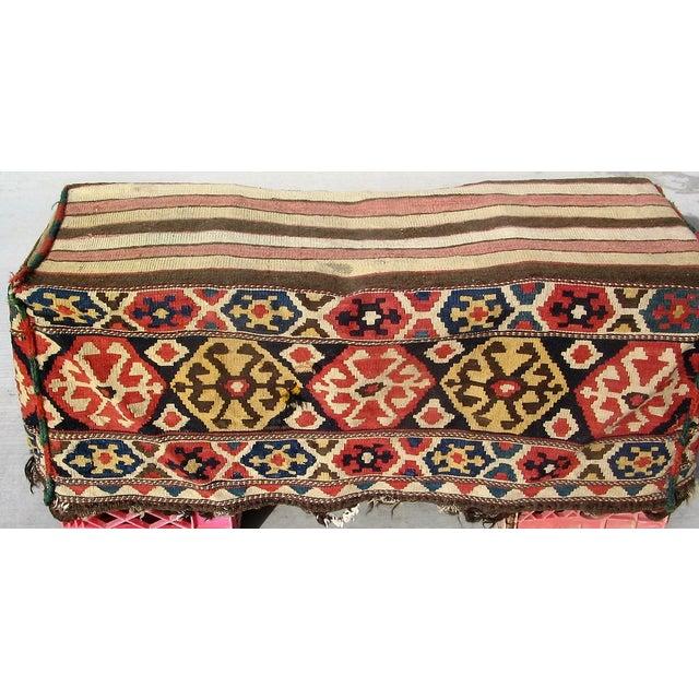 Antique Caucasian Mafrash Rug Bag - Image 4 of 5