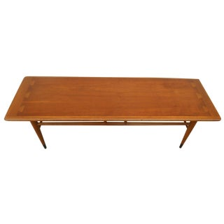Lane Mid-Century Surfboard Coffee Table