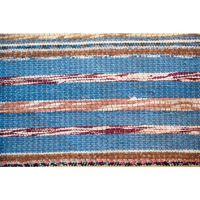 "Vintage Scandinavian Handmade Rug - 2'2"" x 9'3"" - Image 5 of 9"