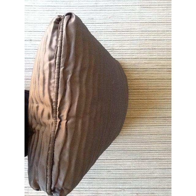 Brown Wave Lumbar Pillow - Image 3 of 4