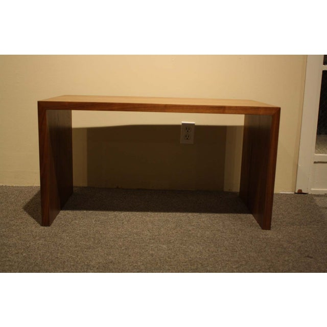 Vioski Solid Walnut Hand Crafted Coffee Table - Image 3 of 5
