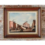 Image of French Impressionist Street Scene Oil Painting