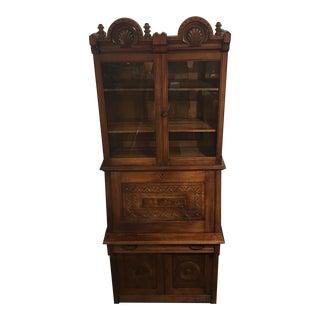 Handmade Antique Walnut Secretary