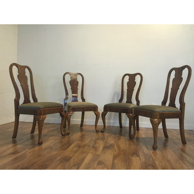 Henredon Traditional Dining Chairs - Set of 6 - Image 6 of 11