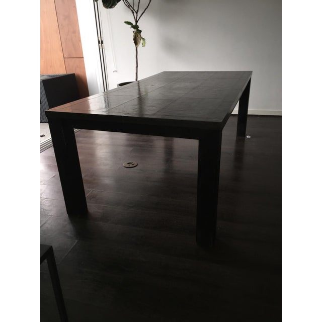 Gunmetal Restoration Hardware Dining Table