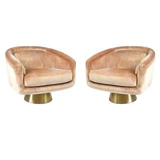 Jonathan Adler Bacharach  Lounge Chairs - A Pair