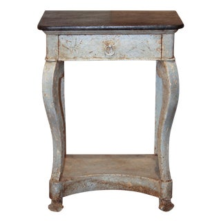 French Painted Louis Philippe Side Table