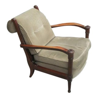 Pair of French 1940s Lounge Chairs Attributed to Andre Arbus
