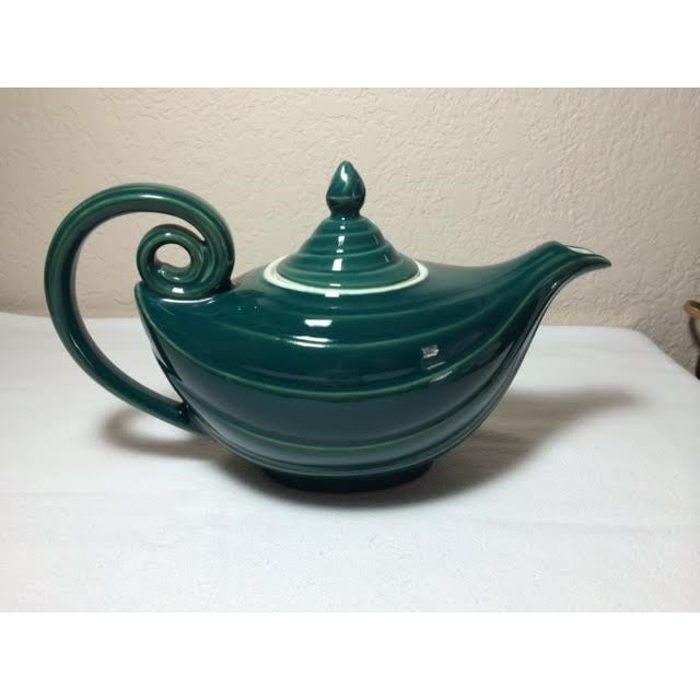 Vintage stephen leeman aladdin teapot chairish - Aladdin teapot ...