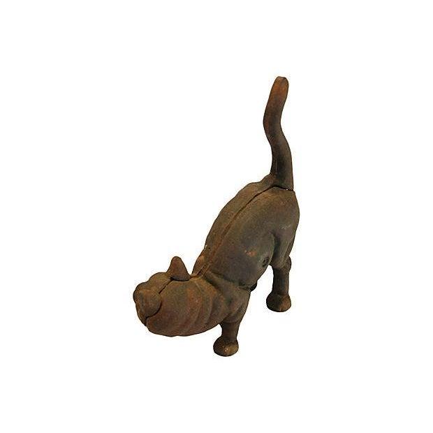 Vintage Cast Iron Cat Doorstop - Image 5 of 7