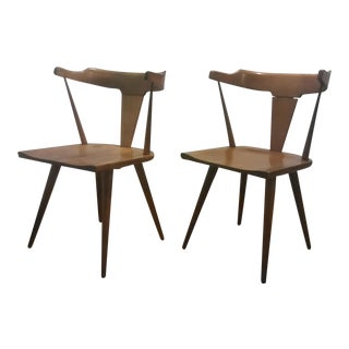 Paul McCobb Mid Century Modern Dining Chairs - a Pair