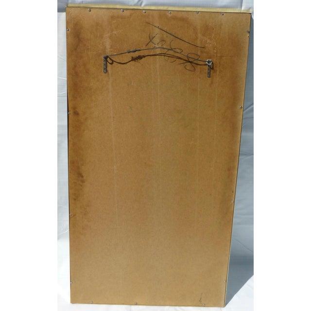 Post Modernist 1980's Travertine Mirror - Image 7 of 11