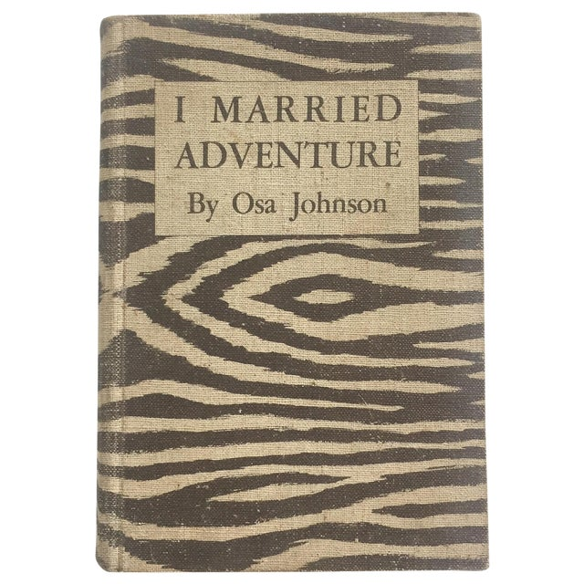 1940 I Married Adventure, Zebra Bound Display Book - Image 1 of 10