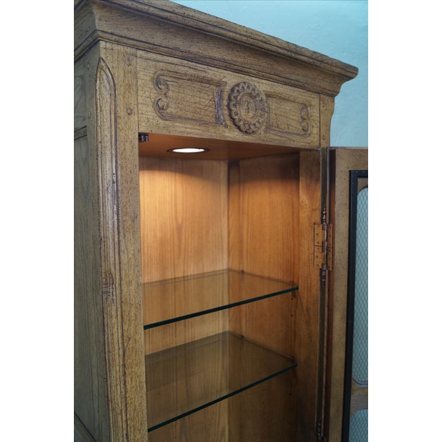 Baker Furniture French Country Curio Cabinet - Image 7 of 10