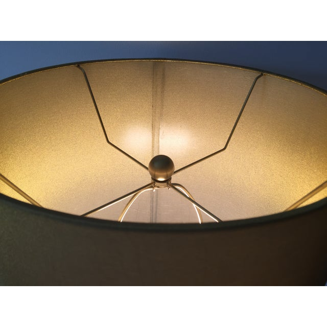 Arteriors Gold Seeded Glass Lamp - Image 6 of 7