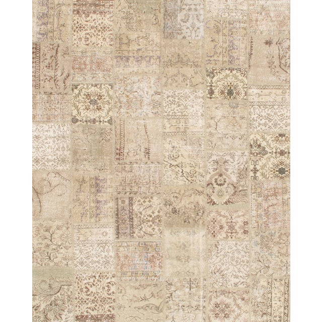 Turkish Patchwork Rug - 8′1″ × 10′1″ - Image 1 of 2