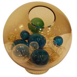 Rare Lit Glass Piece by Venini, Italy circa 1965
