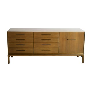 Bert England Walnut Credenza Johnson Furniture Co.