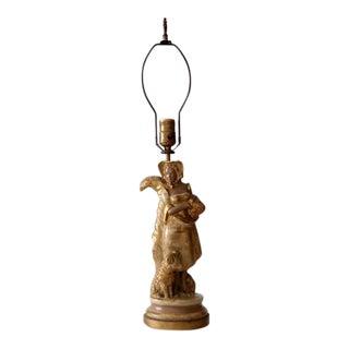 Kupur Art Deco Figural Table Lamp