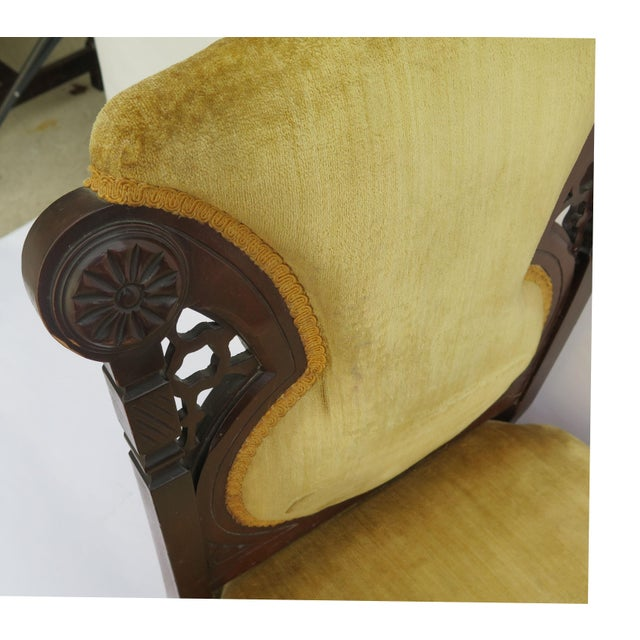 19th Century French Side Chairs - A Pair - Image 5 of 5