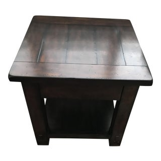 Pottery Barn Benchwright End Table