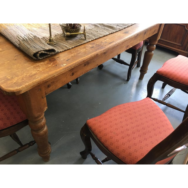 Farm Table With Drawers - Image 8 of 8