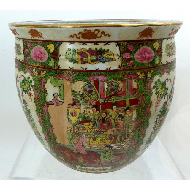 Vintage Asian Goldfish Bowl - Image 3 of 9