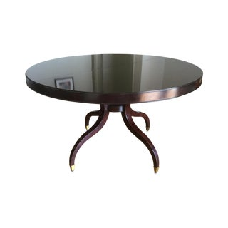 Thomasville Nocturne Round Dining Table & Leaf