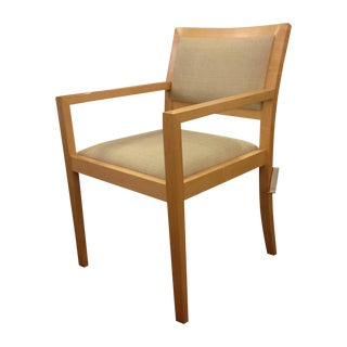 Beige Seat Maple Jag Chair