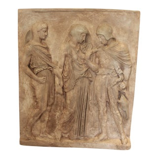 19th Century Large Roman Funeral Stele