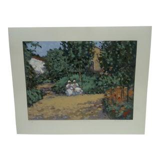 "Frederick McDuff ""Geranium"" Limited Edition Print"