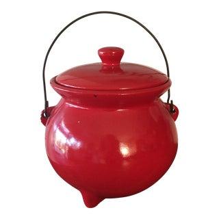 Red McCoy Bean Pot