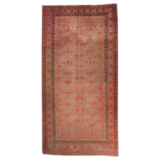 Antique Central Asian Khotan Rug